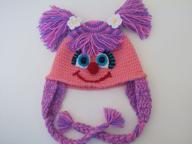 Abby Cadabby Hat -Crochet Baby Hat - for Baby or Toddler-Baby Girl ...