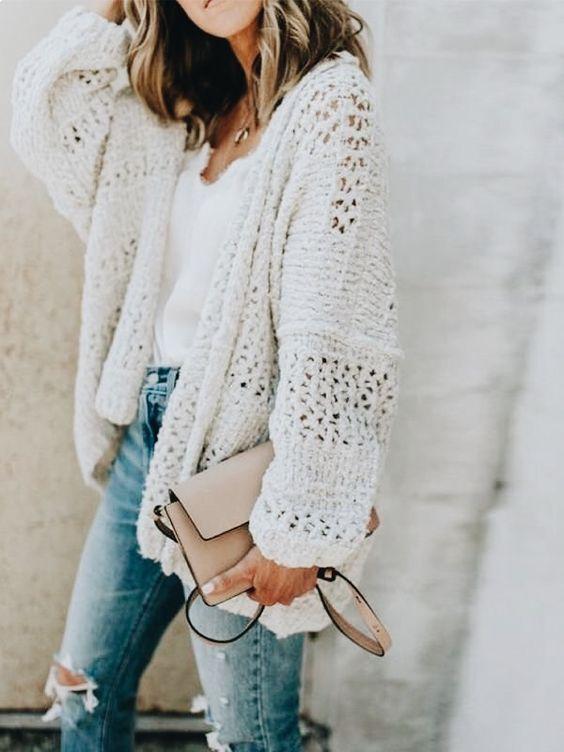 Estilo Femenino. Otoño Invierno · Отличные свитерки в образах 4 Ropa Para  Adolescentes 7e2433041642