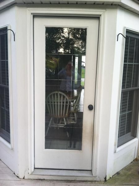 Turn Bay Window Into French Doors Google Search For The Home