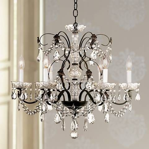 A Beautifully Detailed Crystal Chandelier Designed Exclusively For
