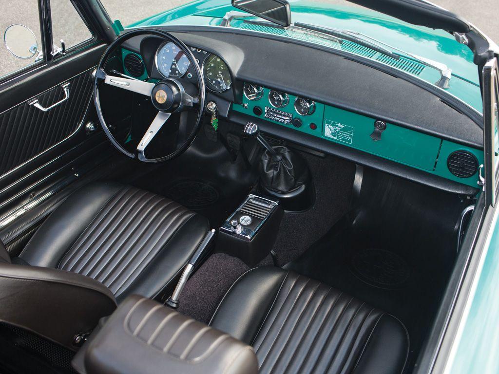 Alfa Romeo 50 Interior