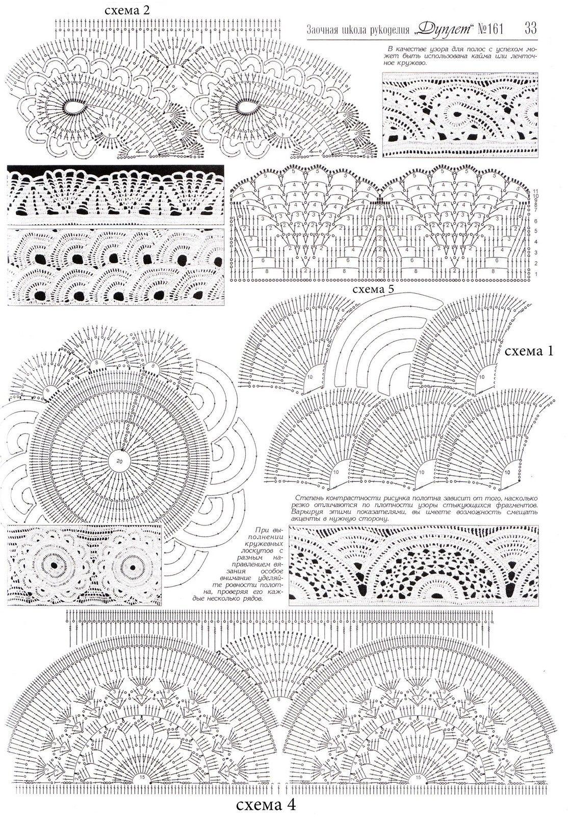 Схемы вязания платья:   puntos de ganchillo   Pinterest   Ganchillo ...