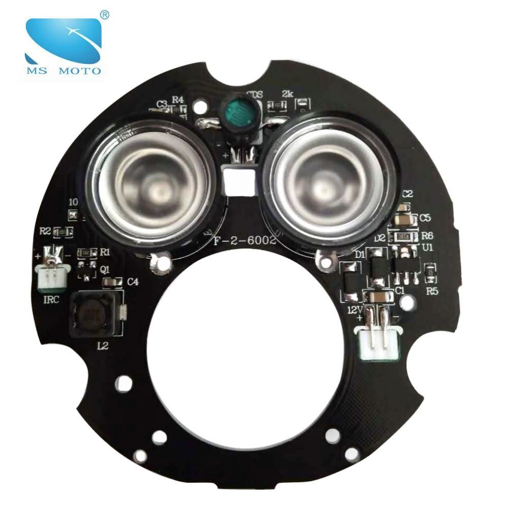 2PCS 24mil Array Infrared Illuminator IR LED Board Infrared