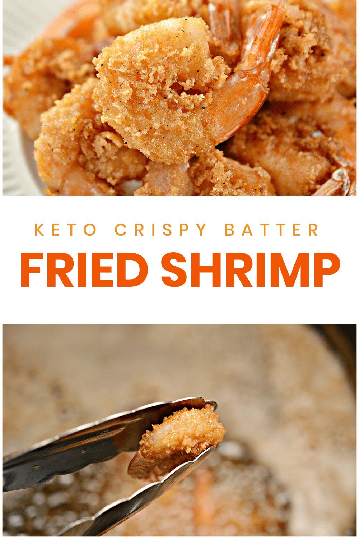 Keto Fried Shrimp Crispy, Juicy OPTIONAL AIR FRYER (With