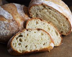 Pan casero de campo, francés y mignones