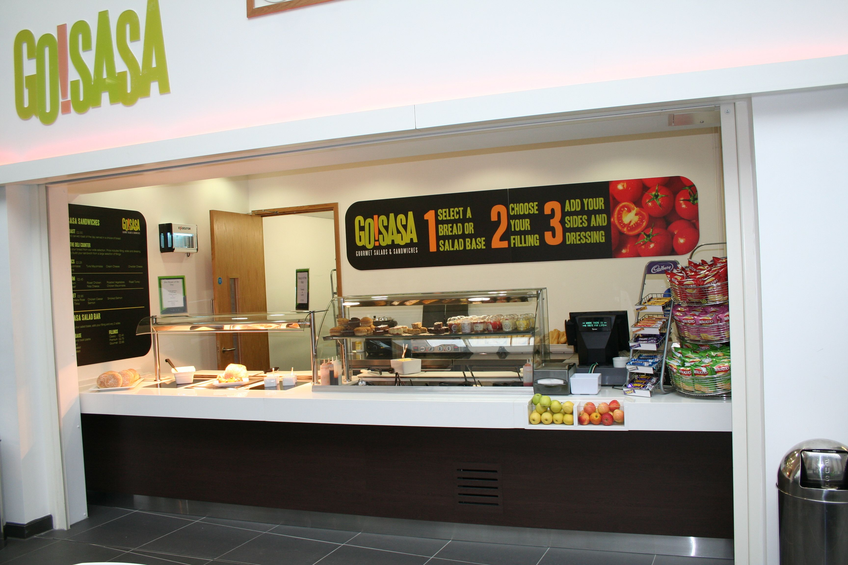 Hot And Cold Food Service Counter Ifse Were Involved In