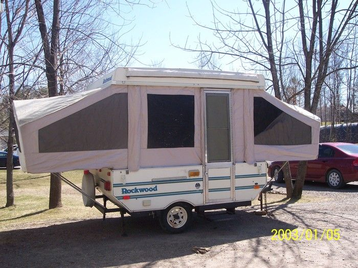 RAR 116 Ft Coleman Popup Tent Trailer Description From