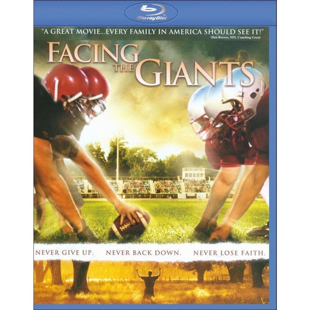 Facing the giants bluray family movies inspirational