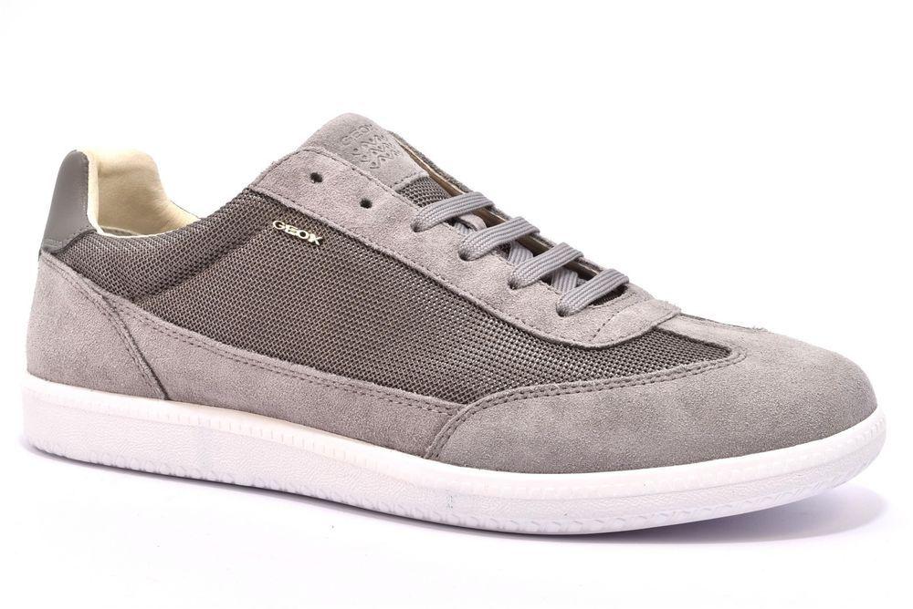 Grigio U824db 02214 Keilan Geox Stringata C9007 Stone Scarpa Sneaker e29IYEDHW
