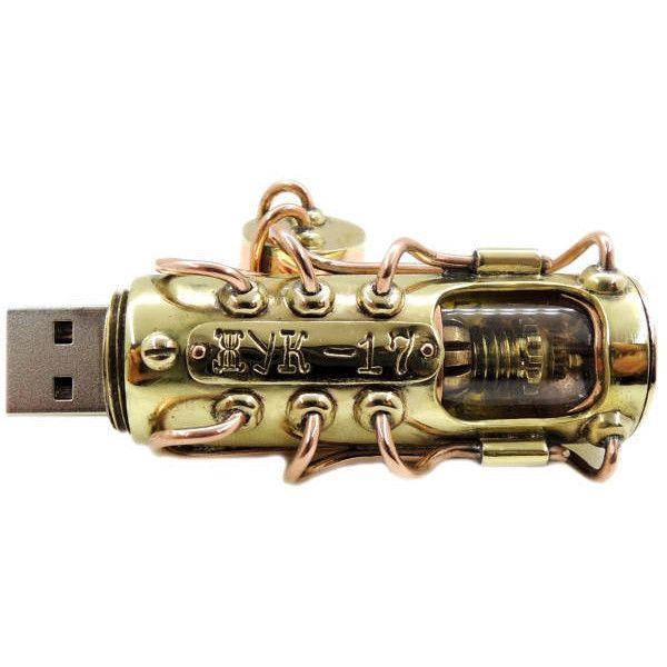 Steampunk USB flash drive 32 GB
