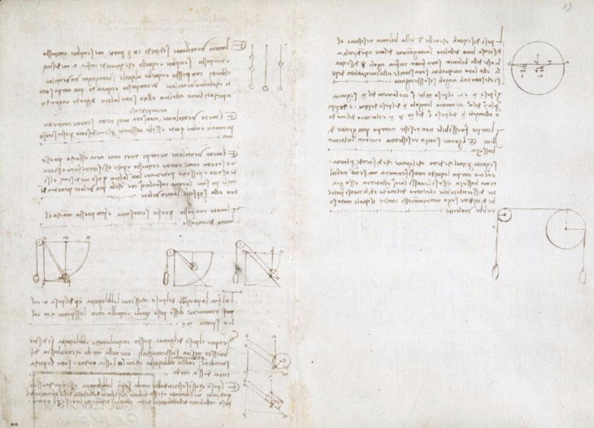 1478 1518, Contents: Notebook Of Leonardo Da Vinci (u0027The Codex Arundel  Leonardo Da Vinci Resume