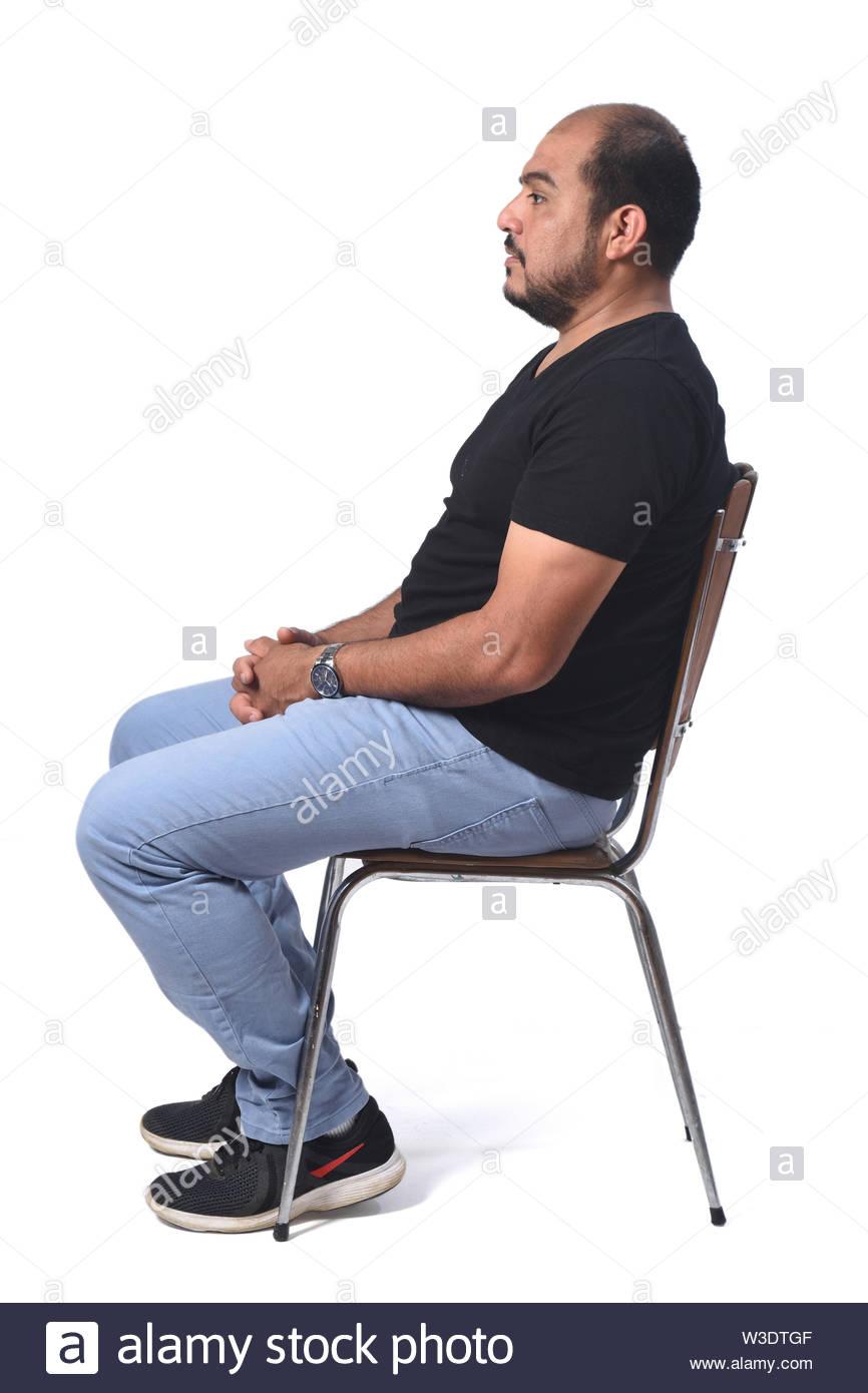 Man On Chair Profile Google Search Man Man Sitting Stationary Bike