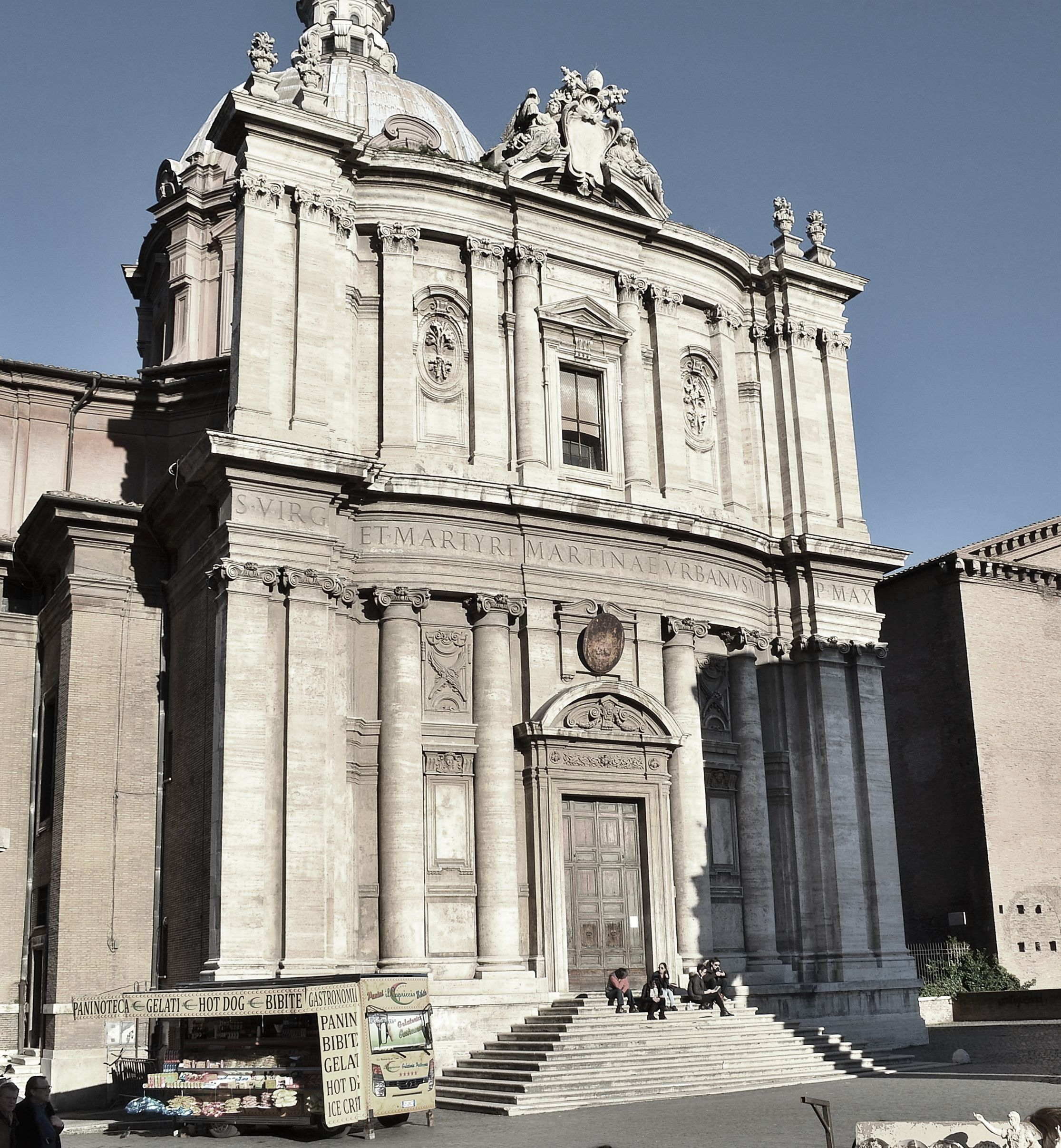 Italian baroque architecture cortona church of santi for Italian baroque architecture