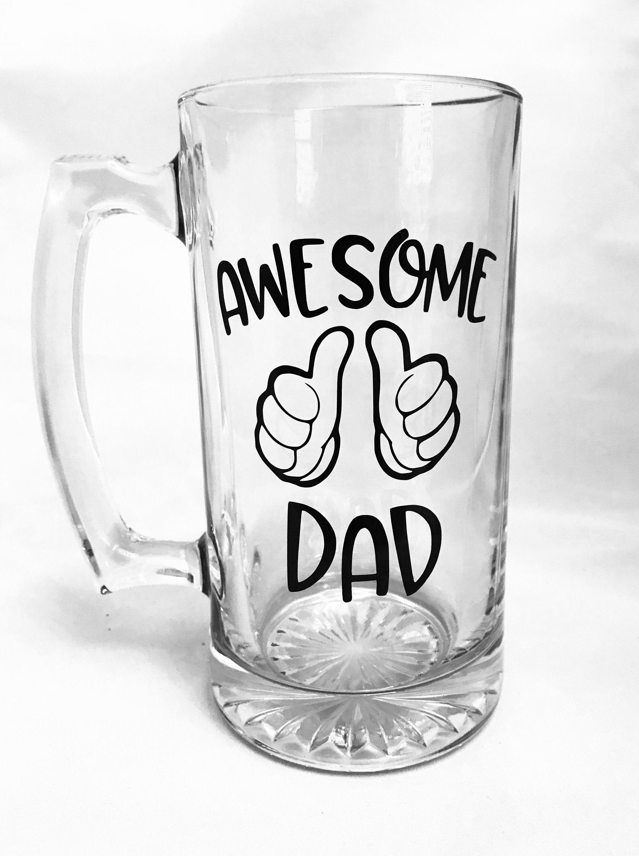 Funny Father/'s Day Beer Stein for the Best Dad Stepdad
