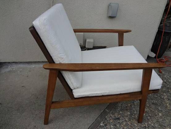 San Jose: Vintage mid-century lounge chair $350 - http://furnishlyst - San Jose: Vintage Mid-century Lounge Chair $350 - Http