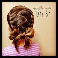 Girly Do Hairstyles: By Jenn: Week 12 {#GirlyDos100DaysofHair}