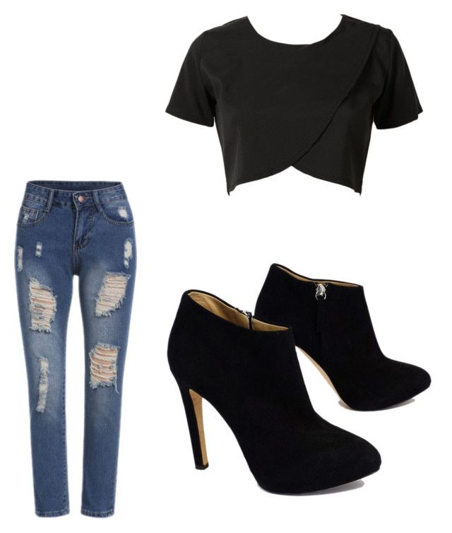 """cute,right???"" by brittany78904 ❤ liked on Polyvore featuring Giuseppe Zanotti"