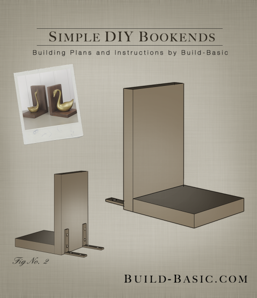 Build Simple Diy Bookends Building Plans By Buildbasic Www