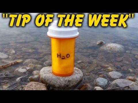 homemade survival water filter. DIY Pill Bottle Firestarters Homemade Survival Water Filter H