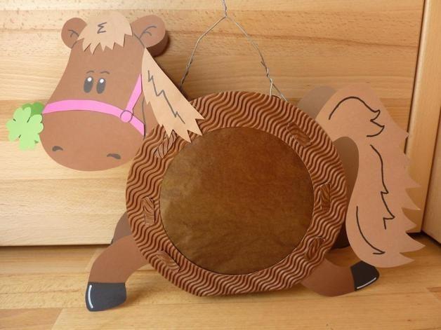 Weiteres - Laterne Sankt Martin Pferd - ein Designerstück von jogididdl bei DaWanda #sanktmartinbasteln