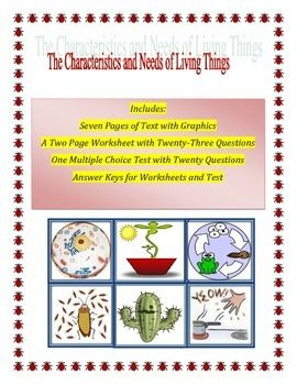 Characteristics of Living Things | The o'jays, Texts and Graphics
