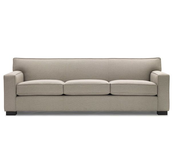 90 Inch Jean Luc Sofa Normally 2 210 00 Down To 1 688 In Gray Fabric