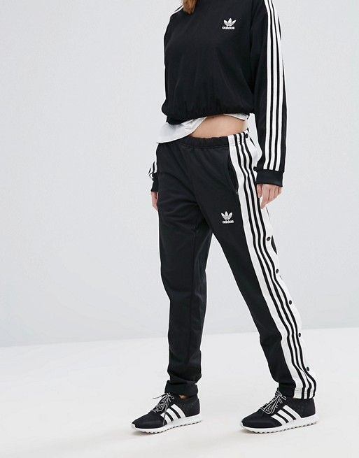 c2b67b18ca8 ASOS | Adidas | Originals Popper Track Pants | Clothes in 2019 ...