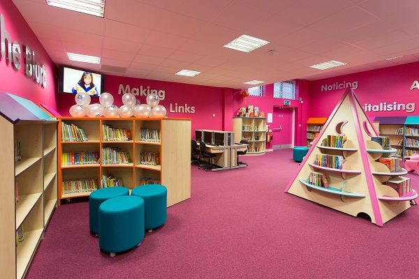 School Library Designs Ideas Libraries Pinterest
