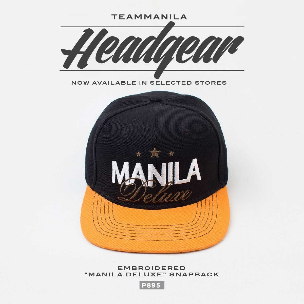 TeamManila Embroidered