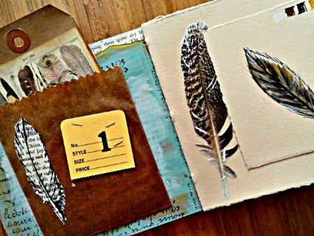 Altered Arts Magazine: Feather Studies