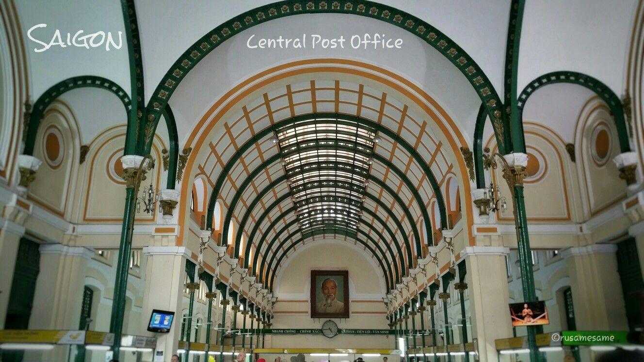 Bưu điện Sai Gon Saigon Central Post Office Ho Chi Minh City Ho Chi Minh Saigon
