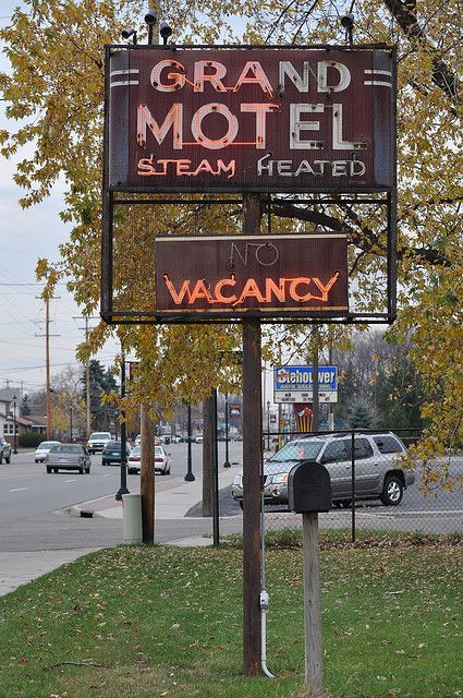 Grand Motel...Grand Rapids, Michigan.