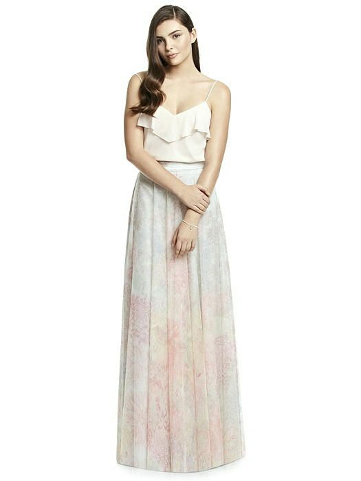 2a2517dcd2 Dessy Collection Bridesmaid Skirt S2977PRNT