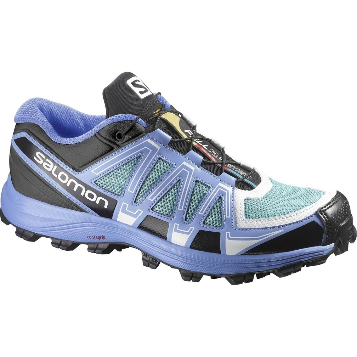 Other Unisex Clothing and Accs 167905: Salomon Women S Fellraiser W Trail Running Shoe, Topaz Petunia Blue White-Sz 8 -> BUY IT NOW ONLY: $77 on eBay!
