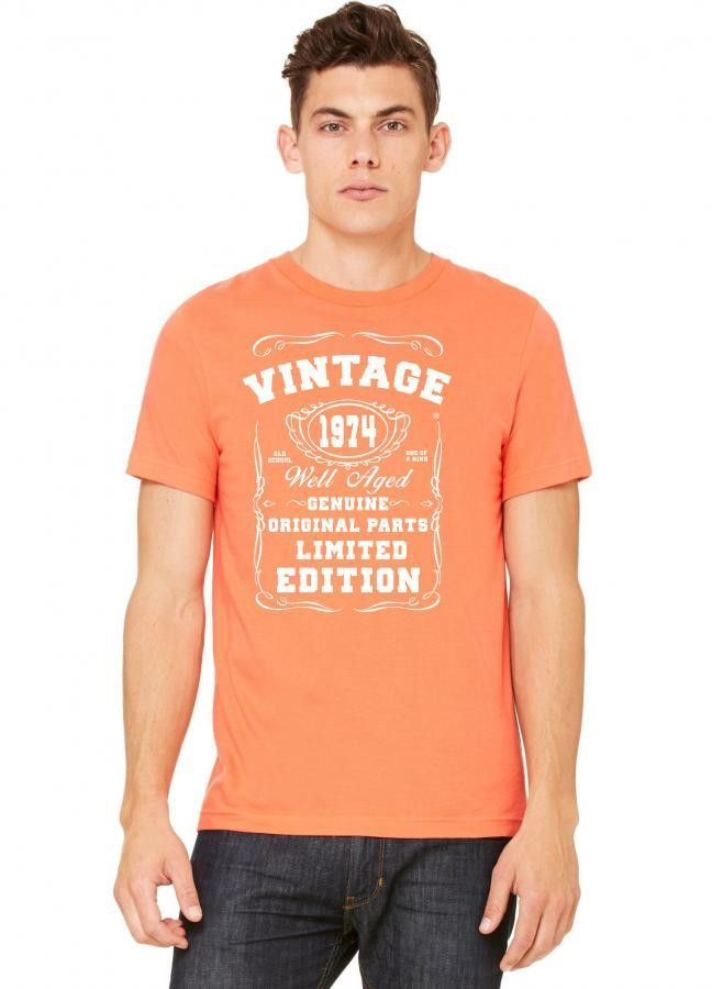 well aged original parts limited edition 1974 Tshirt