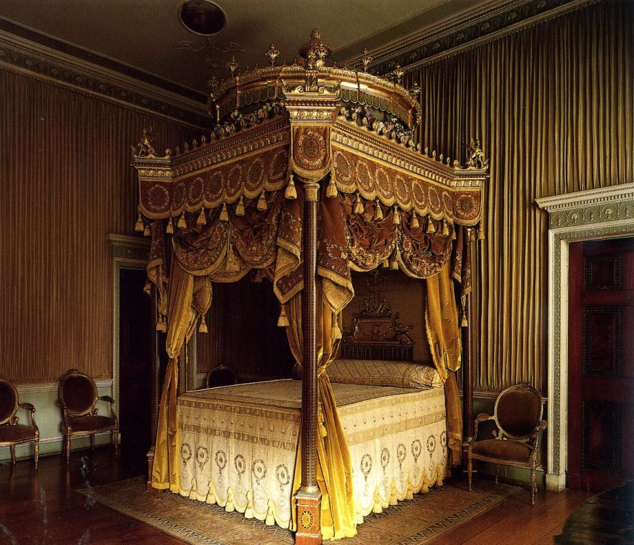 Home Furnishings An Incredibly Ornate Canopy Bed Bedroom Design Beautiful Bedrooms Master Bedroom Decor