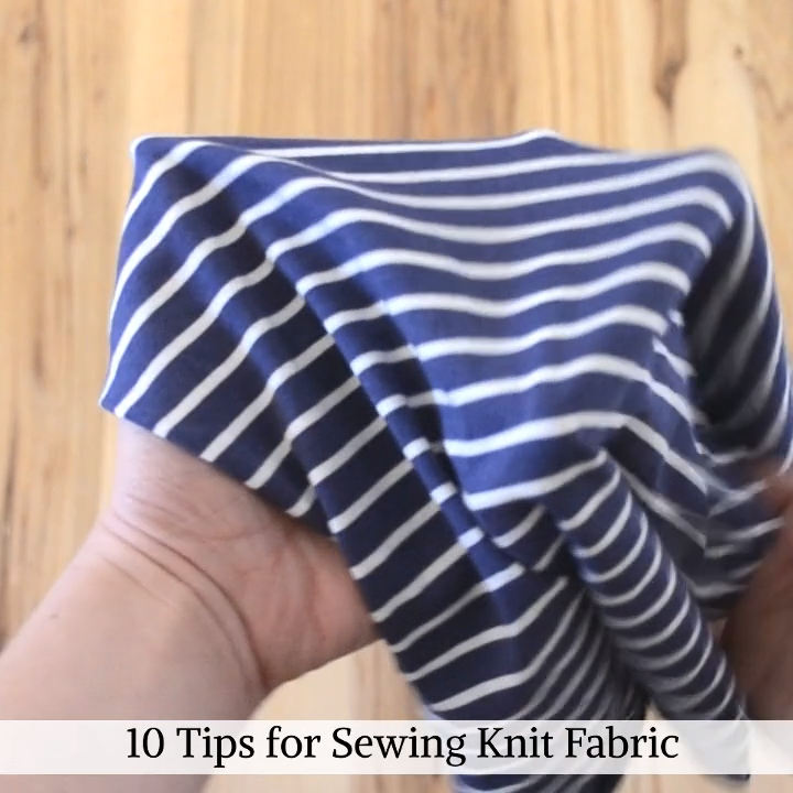 Photo of Tips for Sewing Knit Fabric