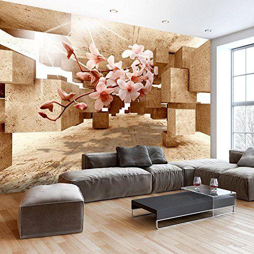 Fotomural 350x245 cm - 3 tres colores a elegir - Papel tejido-no