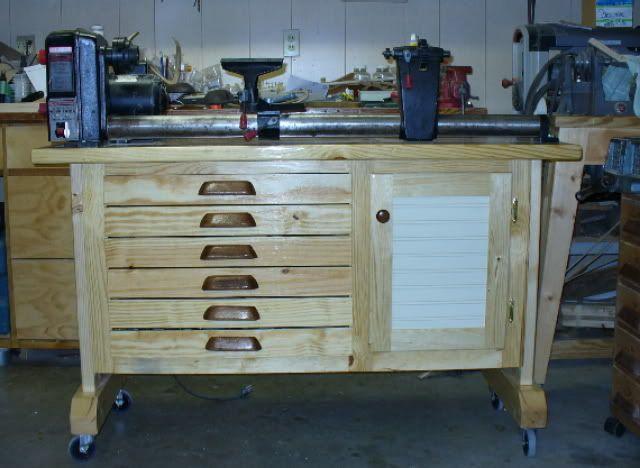 Lathe Stand The Shop Pinterest Lathe Woodturning