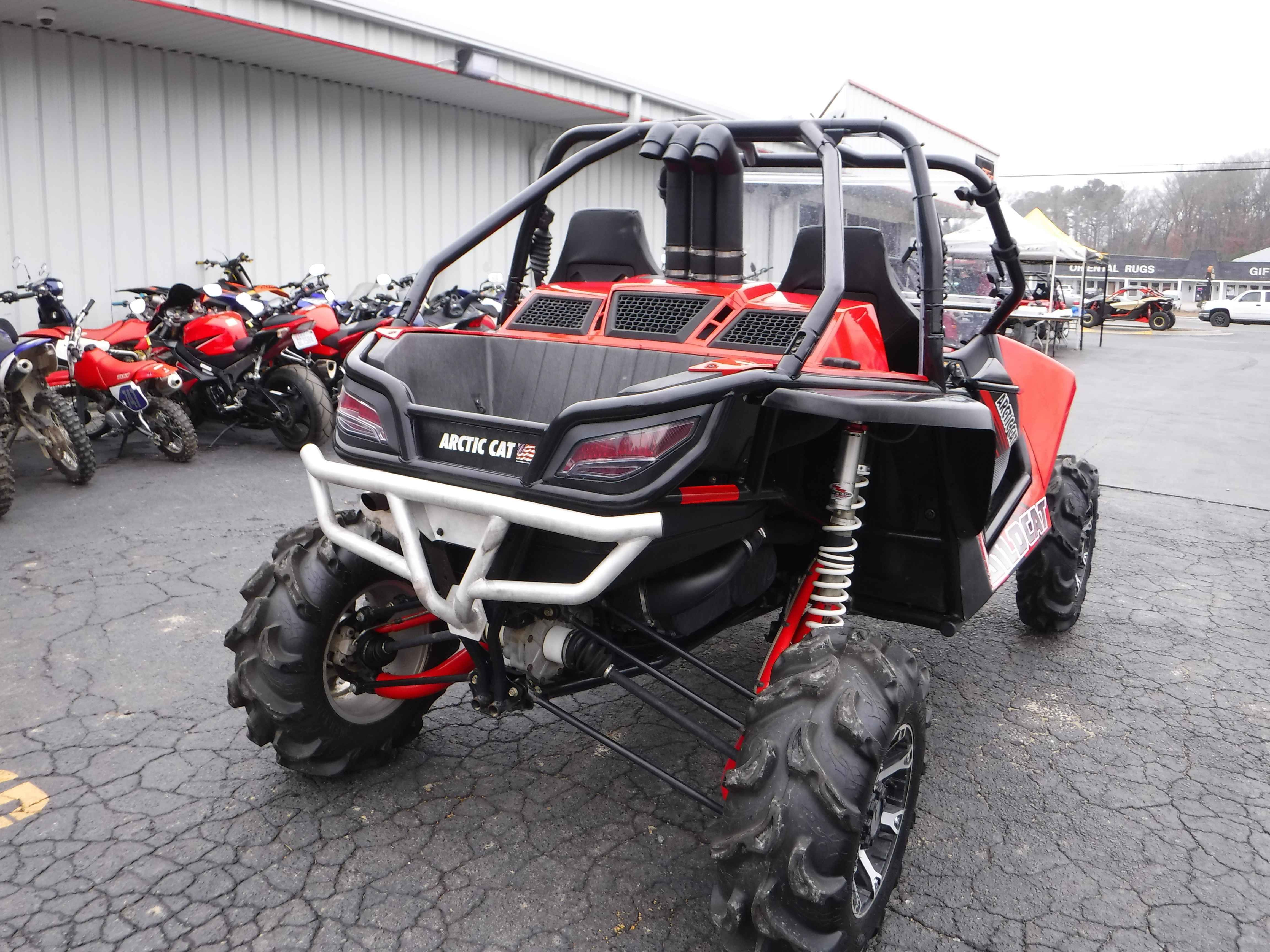 Used 2013 arctic cat wildcat 1000 limited walker evans e atvs for sale in north carolina