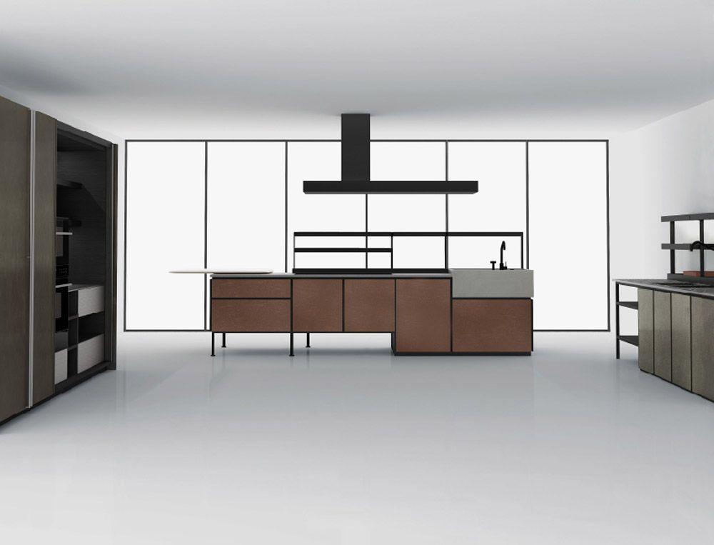 Freistehende Küchen: Küche Salinas [a] von Boffi - kitchens ...