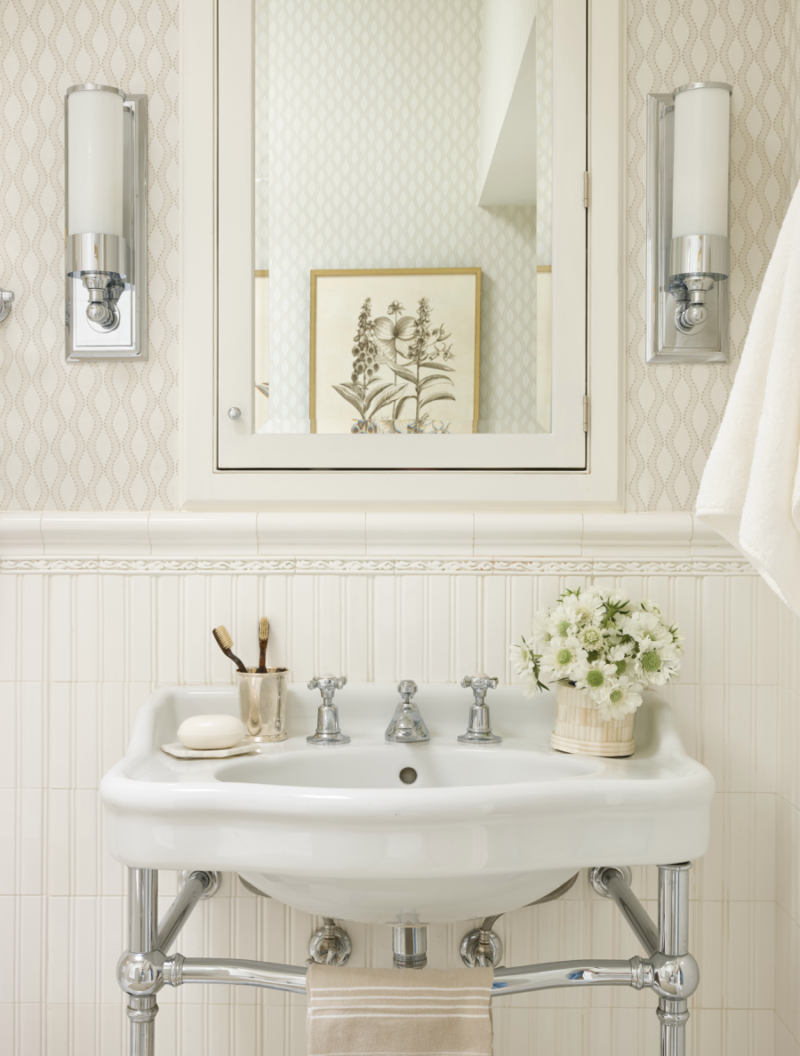 SARAH B. IN D.C. | Pour le Bain | Pinterest | Bath, Powder room and ...