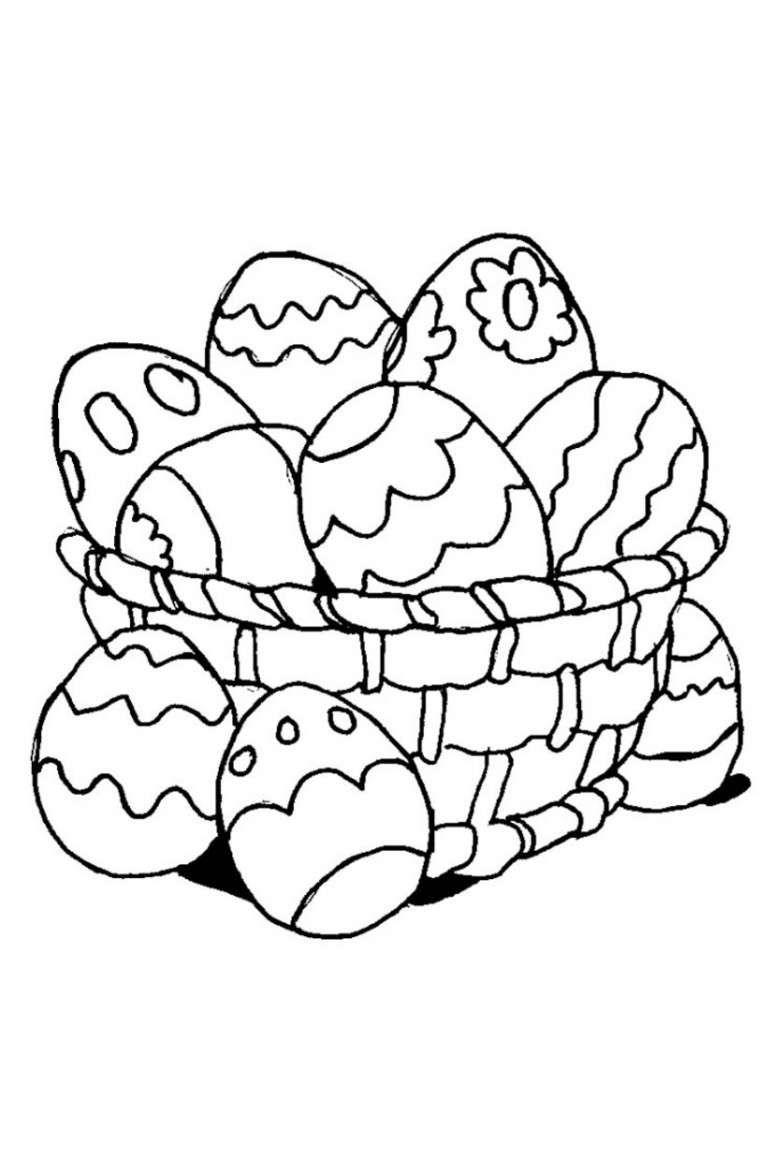 Disegni Di Pasqua Le Uova Da Stampare E Colorare Foto 9 40