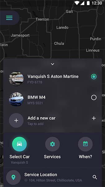 CarWash Android App + iOS App Template | CarBath (HTML+CSS files