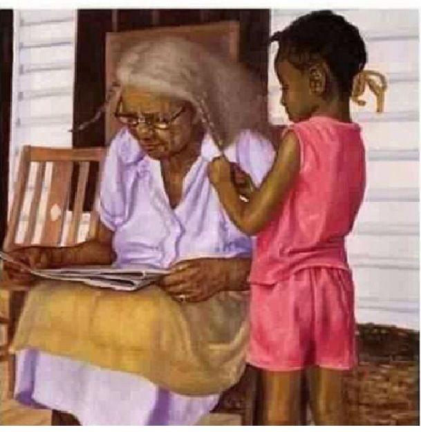 Grandma Amp Meby Gregory Myrick African American Artwork
