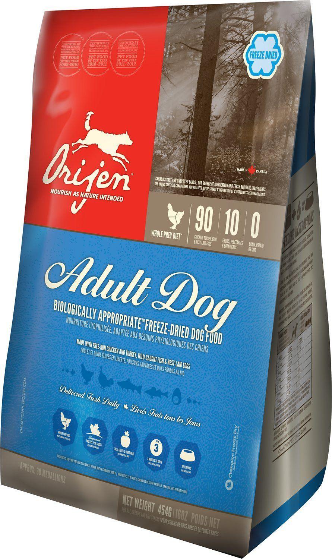 Orijen Adult FreezeDried Dog Food Freeze dried dog food