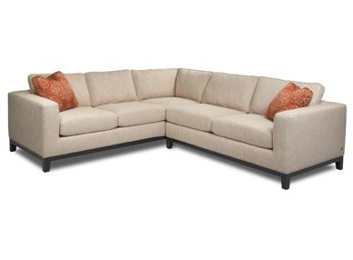 The Brooke Sectional Has Clean Lines And A Nice Arm Shape