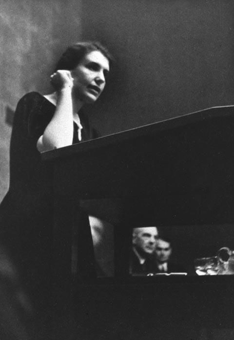 Anna Freud at the Psychoanalytic Congress, Lucerne, 1934