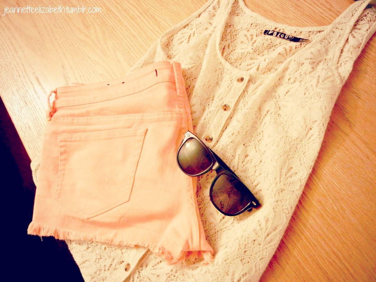 Love... tank tops and shorts  i hate layering