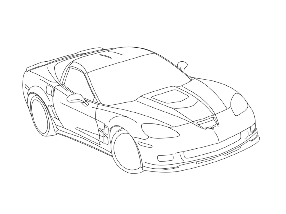 Corvette Coloring Pages K5 Worksheets In 2020 Truck Coloring Pages Coloring Pages Superhero Coloring